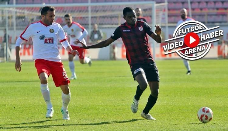 Boluspor 3-0 Eskişehirspor maçı özeti ve golleri (İZLE)