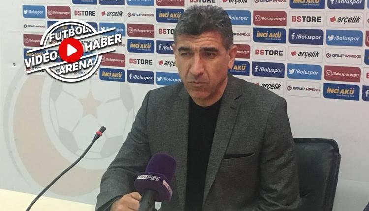 Boluspor'da Sait Karafırtınalar'dan İstanbulspor maçı açıklaması