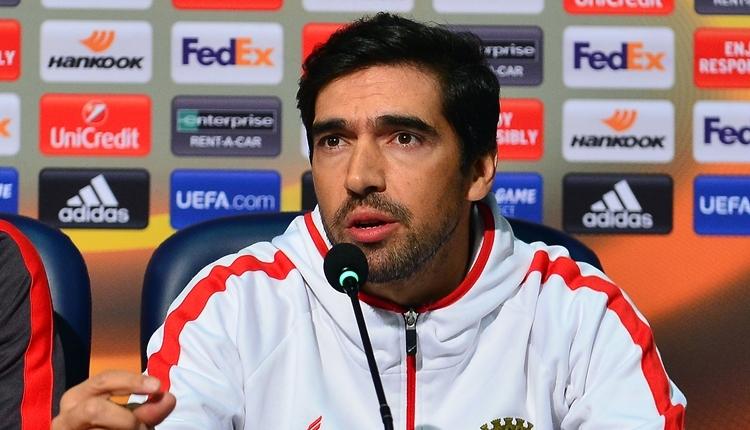 Braga hocası Abel Ferreira: 'Türkiye liderini yenmek istiyoruz'