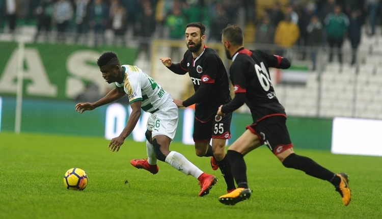 Bursaspor 1-1 Gençlerbirliği maç özeti ve golleri (İZLE)