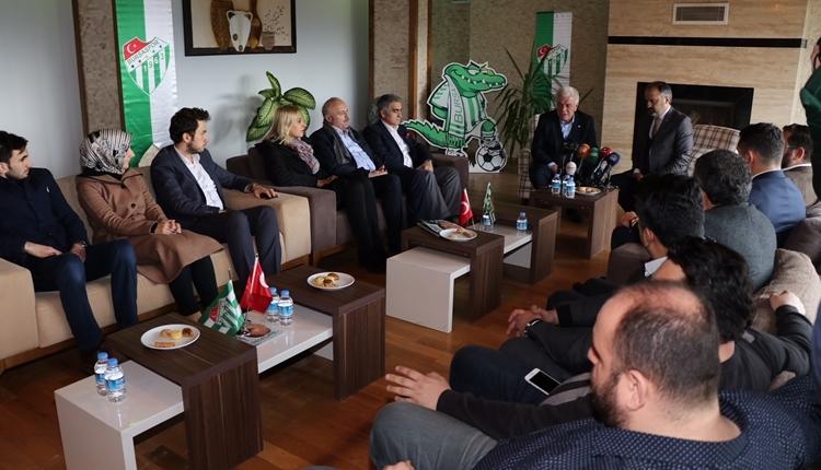 Bursaspor Başkanı Ali Ay: 'Türkiye'ye örnek olacağız'