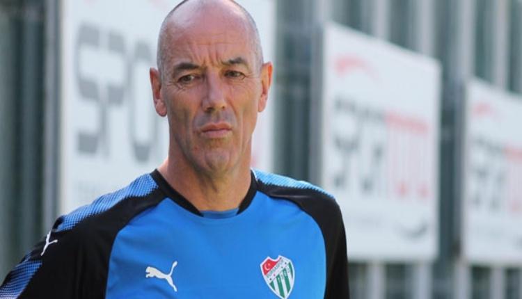 Bursaspor teknik direktörü Paul Le Guen hastaneye kaldırıldı