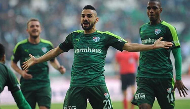Bursaspor'da Atiker Konyaspor galibiyetiyle moraller yerinde