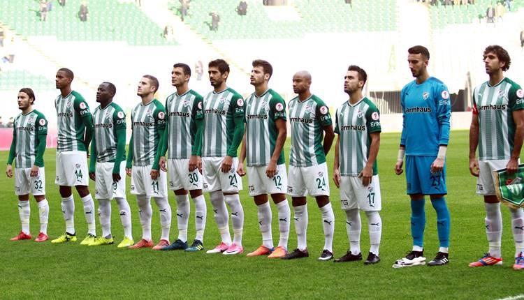 Bursaspor'da devre arası gönderilecek futbolcular belirlendi