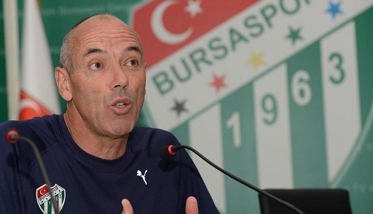 Bursaspor'da Paul Le Guen'den Fenerbahçe itirafı