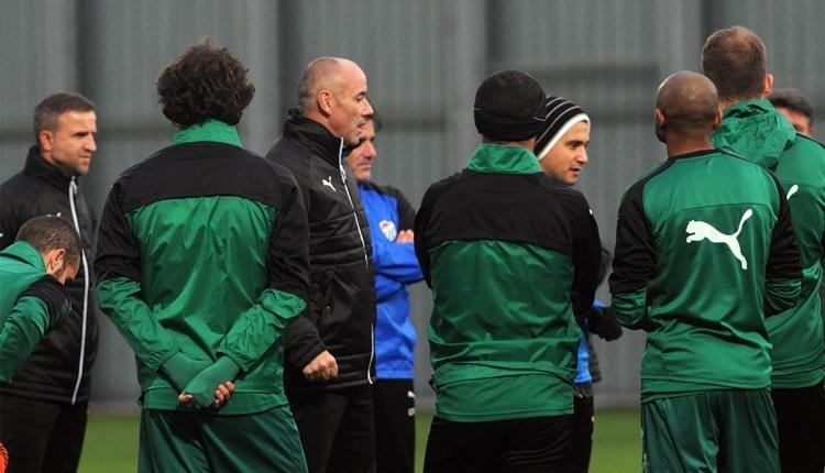 Bursaspor'da Paul Le Guen'den Fenerbahçe'ye mesaj