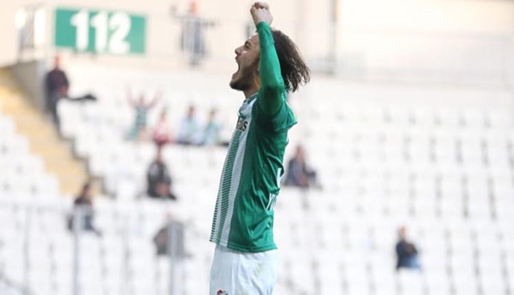 Bursaspor'da Yusuf Erdoğan golle tanıştı