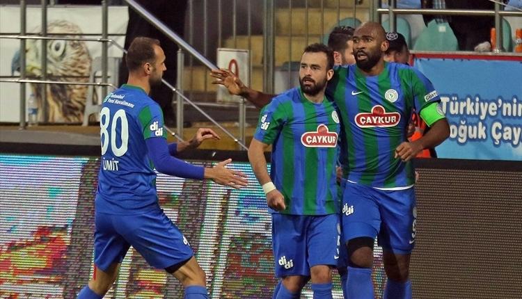 Çaykur Rizespor 4-0 Ümraniyespor maç özeti ve golleri