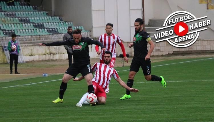 Denizlispor 1-1 Boluspor maçı özeti ve golleri (İZLE)