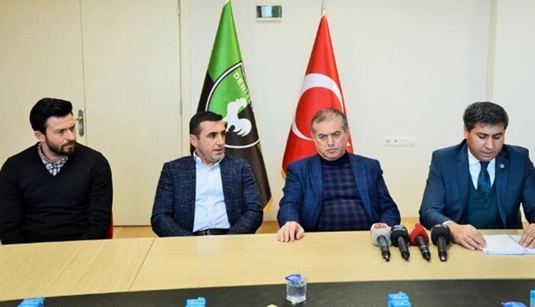 Denizlispor'da 8 futbolcunun bileti kesildi