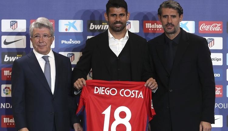 Diego Costa ve Vitolo, Atletico Madrid'e resmen imza attı