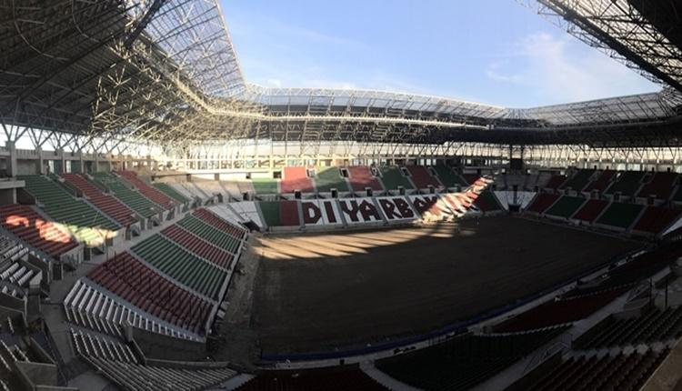 Diyarbakır'ın yeni stadında son aşamaya gelindi