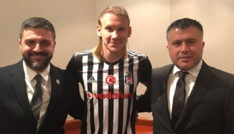 Domagoj Vida resmen Beşiktaş'ta! Formayı giydi