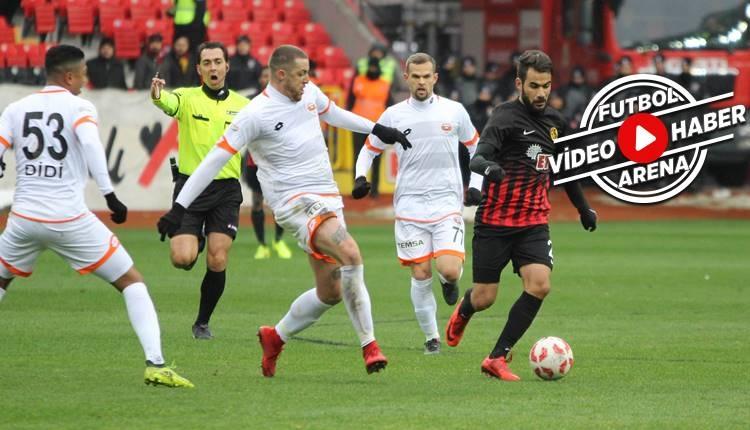 Eskişehirspor 1-2 Adanaspor maçı özeti ve golleri (İZLE)