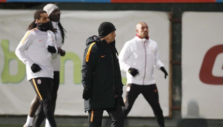 Fatih Terim, Galatasaray - Göztepe maçının 11'ini açıkladı