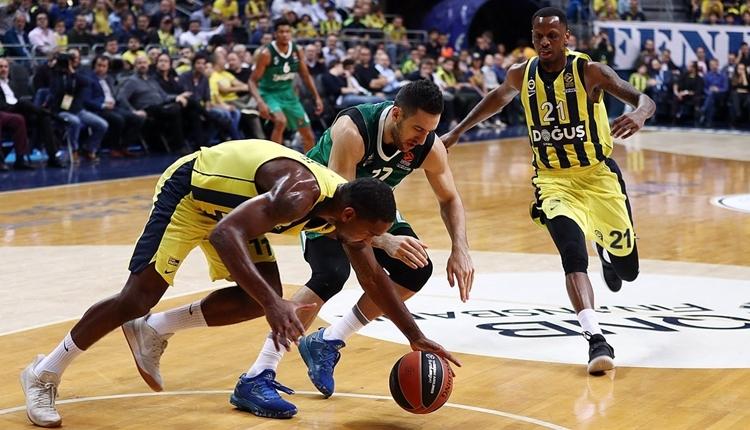 Fenerbahçe Doğuş evinde Zalgiris Kaunas'a kaybetti