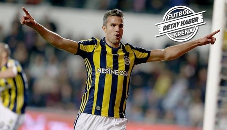 Fenerbahçe, Robin van Persie'nin maaşını FIFA ile bölüştü