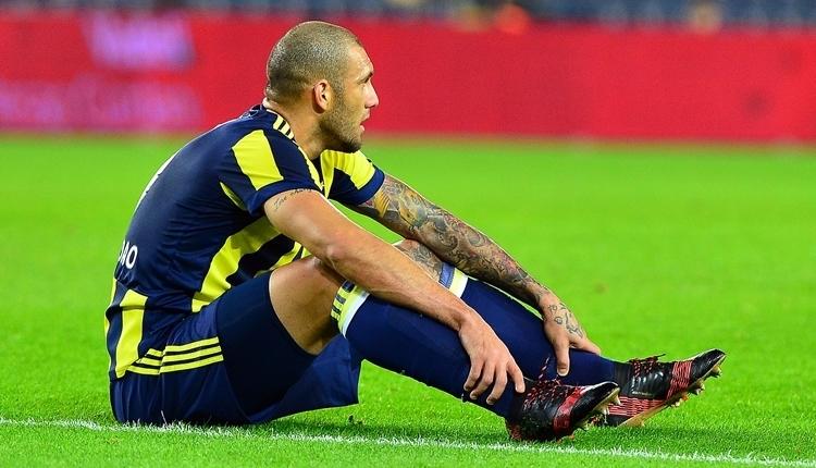 Fenerbahçe taraftarları Fernandao'yu protesto etti