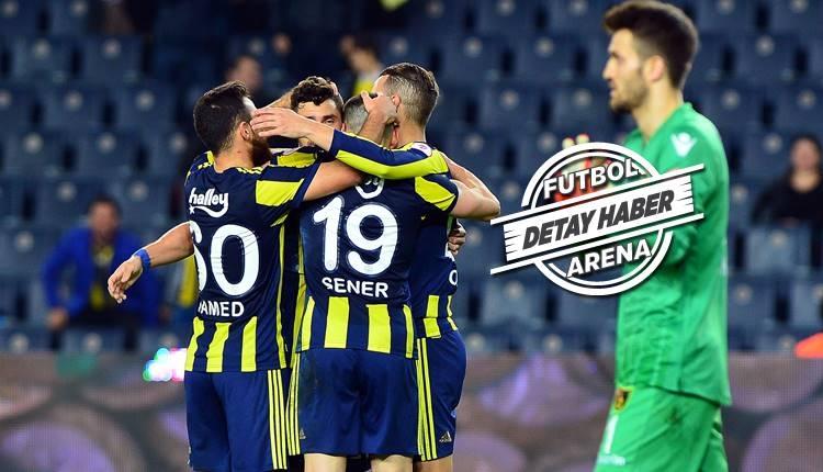 Fenerbahçe yenilmezlik serisini sürdürüyor