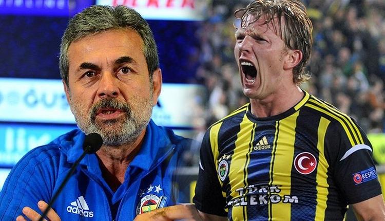 Fenerbahçe'de Aykut Kocaman, Dirk Kuyt arıyor