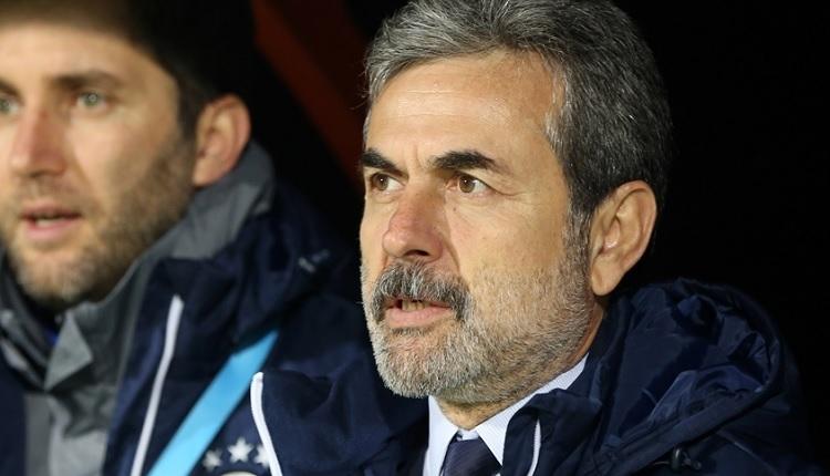 Fenerbahçe'de Aykut Kocaman'dan flaş Van Persie ve transfer açıklaması