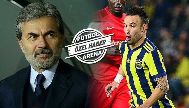 Fenerbahçe'de Aykut Kocaman'dan Valbuena kararı
