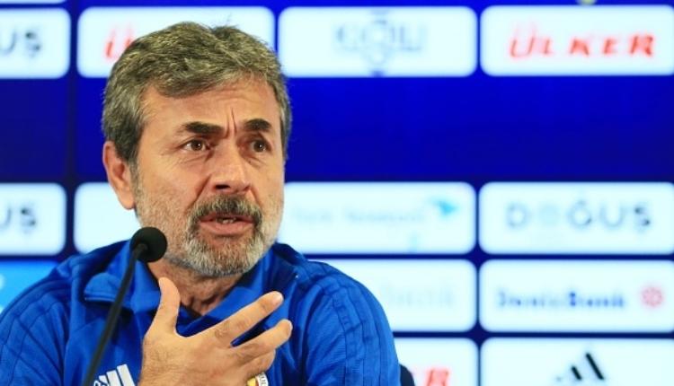 Fenerbahçe'de Aykut Kocaman'ın Beşiktaş - Galatasaray derbisi beklentisi