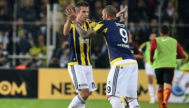 Fenerbahçe'de iki yolcu! Fernandao ve Robin van Persie