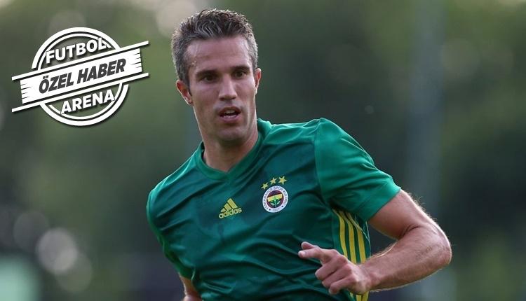 Fenerbahçe'de Robin van Persie transferde ABD yolunda