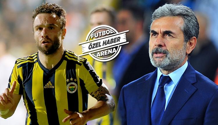 Fenerbahçe'de Valbuena'dan Aykut Kocaman'a: 'Ben buraya...'