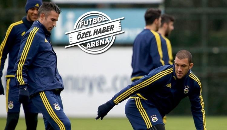 Fenerbahçe'de Van Persie ve Fernandao hakkında son karar