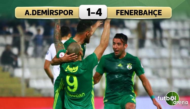 Adana Demirspor 1-4 Fenerbahçe maç özeti ve golleri (İZLE)