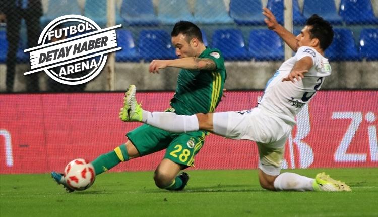 Fenerbahçeli Valbuena, Türkiye Kupası'nda patlama yaptı