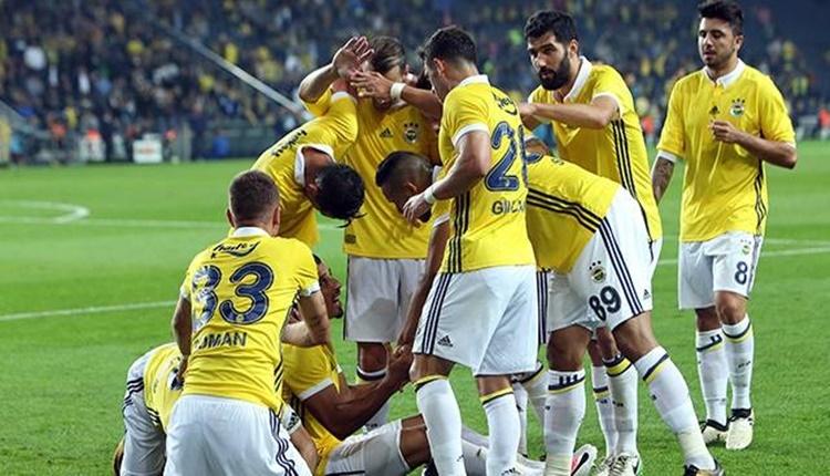 Fenerbahçe'nin gollerine yabancıları damga vuruyor