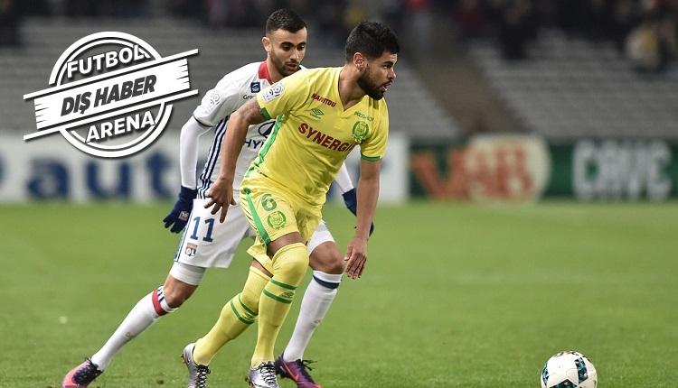 Fenerbahçe'ye yeni sol bek Nantes'tan Lucas Lima