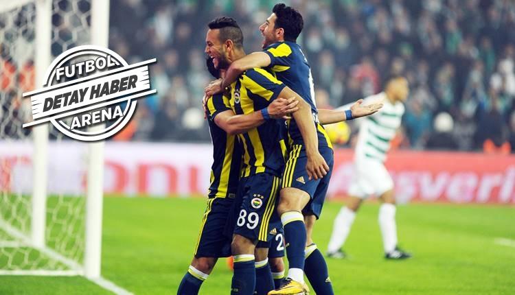 Fenerbahçe'yi yabancı futbolcular sırtlıyor