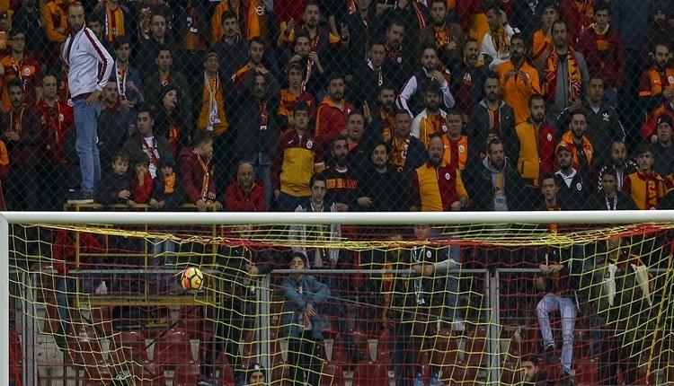 Galatasaray - Akhisarspor tribünde olay çıktı! Fatih Terim sesleri
