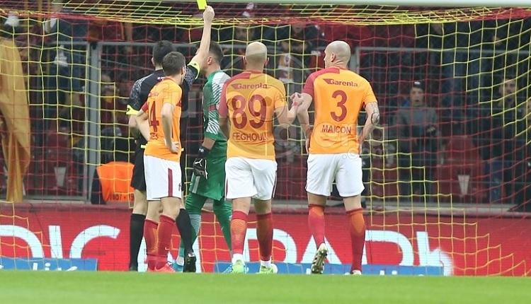 Galatasaray - Göztepe maçında penaltı! Muslera çılgına döndü