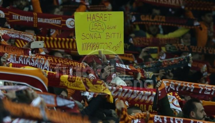 Galatasaray tribünlerinde Fatih Terim etkisi! Sezon rekoruna kıl payı
