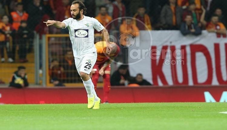Galatasaray tribünlerine Olcan Adın'dan gol sonrası mesaj