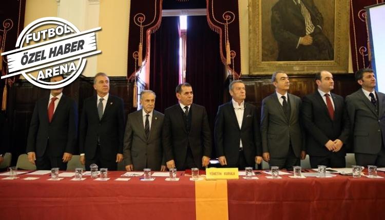 Galatasaray yönetiminden 3 isim gitti, 3 isim geldi