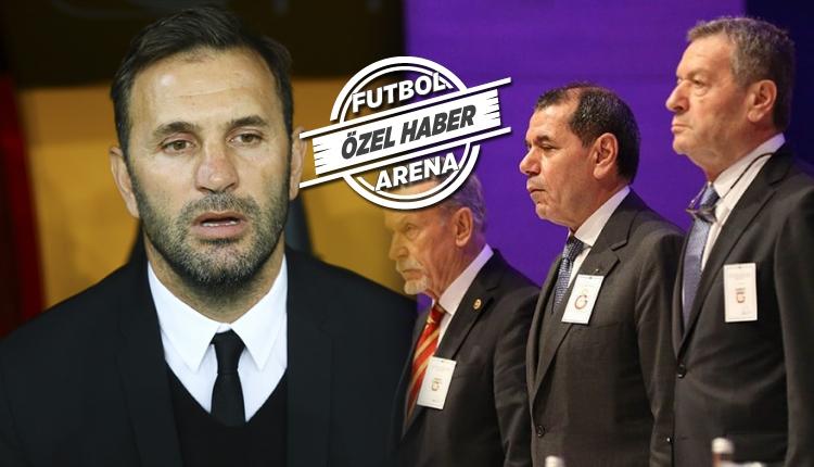 Galatasaray yönetiminden Okan Buruk kararı