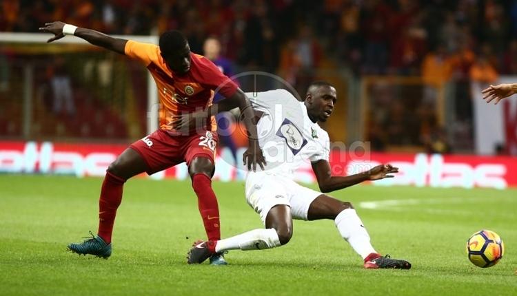 Galatasaray'da Badou Ndiaye galibiyetin mimarı oldu