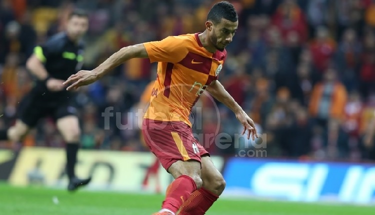 Galatasaray'da Belhanda'ya Akhisarspor maçında protesto