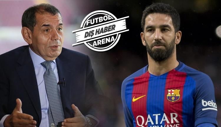 Galatasaray'da Dursun Özbek ve Arda Turan'ın transfer görüşmesi! Ne konuştular?