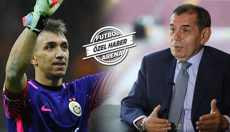Galatasaray'da Dursun Özbek'ten Muslera'ya motivasyon konuşması