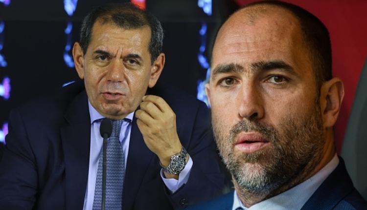 Galatasaray'da Dursun Özbek'ten Tudor düşüncesi ''Gönderdik de ne oldu!''