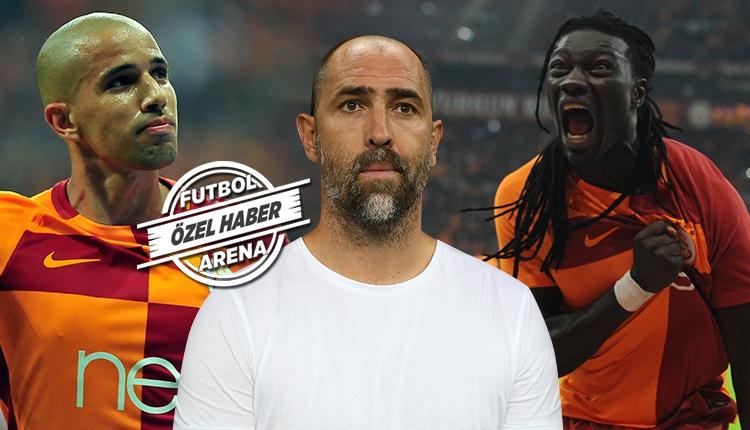 Galatasaray'da Gomis ve Feghouli'den soyunma odasında isyan!