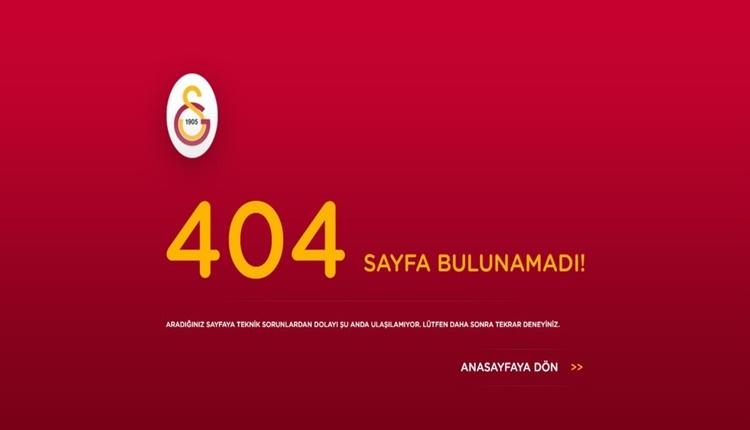 Galatasaray'da Igor Tudor'a resmi sitede ulaşılamıyor!