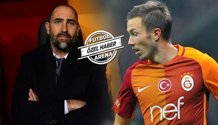 Galatasaray'da Igor Tudor'dan Martin Linnes'e uyarı
